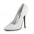 DOMINA-420 White Patent