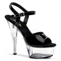 KISS-209 Black Patent/Clear