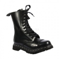 ROCKY-10 Black Leather