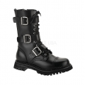 RIOT-12 Black Leather