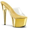 ADORE-701 Clear/Gold Chrome