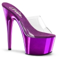 ADORE-701 Clear/Purple Chrome