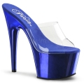 ADORE-701 Clear/Royal Blue Chrome