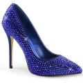AMUSE-20RS Blue Satin