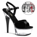 CAPTIVA-609 Black/Clear