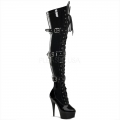 DELIGHT-3028 Black Patent