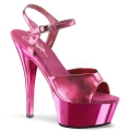 KISS-209 Hot Pink Metallic PU/Hot Pink Chrome