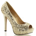 LUMINA-27SQ Gold Sequins